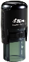 "R-512 Cusom Self-Inking Rubber Stamp<BR>Impression Area: 1/2"" Diameter"