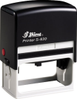 "S-830 Custom Self-Inking Rubber Stamp<br>Impression Area: 1-1/2"" x 3"""