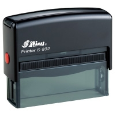 "S-832 Custom Self-Inking Rubber Stamp<BR>Impression Area: 5/8"" x 2-15/16"""